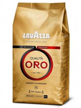 Кофе в зернах Lavazza Oro  (Лавацца Оро)  1 кг, вакуумная упаковка