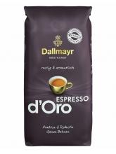 Кофе в зернах Dallmayr Espresso D Oro (Даллмайер Эспрессо де Оро)  1 кг,  вакуумная упаковка