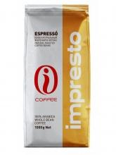 Кофе в зернах Impresto Espresso (Импресто Эспрессо) 1 кг, вакуумная упаковка