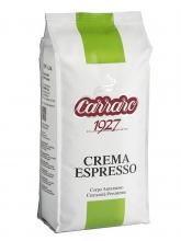 Кофе в зернах Carraro caffe Crema Espresso (Карраро Крема Эспрессо)  1 кг, вакуумная упаковка